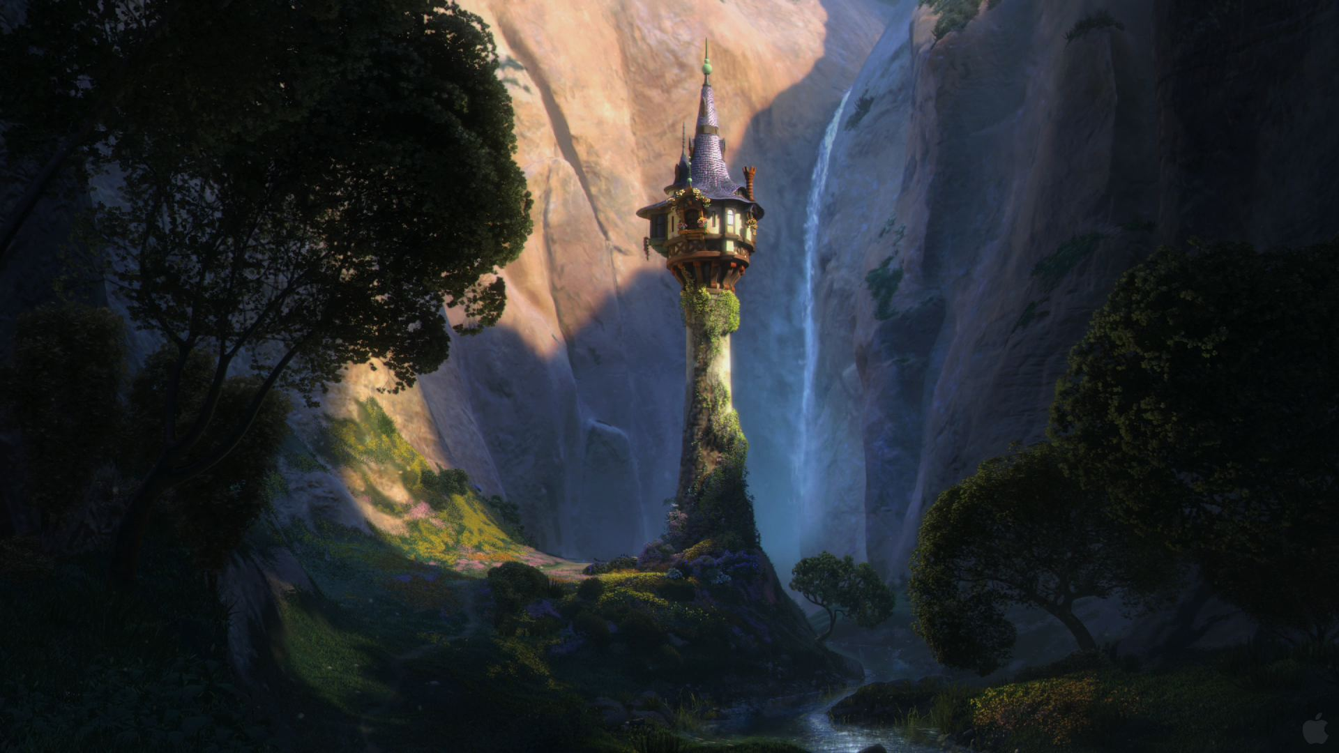 disney-tangled-rapunzels-tower-wallpaper
