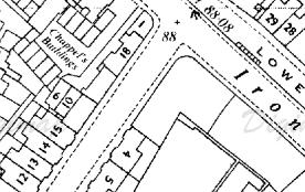 Dinham Rd map
