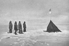 Amundsen At_the_South_Pole,_December_1911