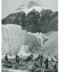 Everest 1953 camp